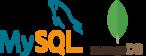 Logos MySQL et mongoDB